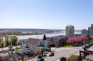 Main Photo: 604 209 CARNARVON STREET in New Westminster: Downtown NW Condo for sale : MLS®# R2262386