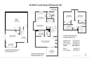 """Photo 18: 6 8551 COOK Road in Richmond: Brighouse Townhouse for sale in """"SHERWOOD OAKS"""" : MLS®# R2393557"""