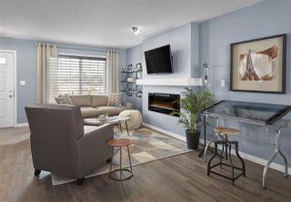 Photo 1: 1005 PAISLEY Drive in Edmonton: Zone 55 House Half Duplex for sale : MLS®# E4198556