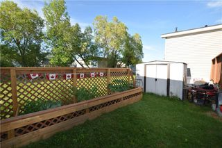 Photo 25: 34 TIMBER Lane in St Clements: Pineridge Trailer Park Residential for sale (R02)  : MLS®# 202015858