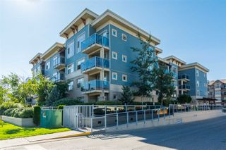 """Photo 1: 301 19936 56 Avenue in Langley: Langley City Condo for sale in """"Bearing Pointe"""" : MLS®# R2487217"""