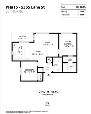 """Photo 27: PH15 5355 LANE Street in Burnaby: Metrotown Condo for sale in """"INFINITY"""" (Burnaby South)  : MLS®# R2495174"""