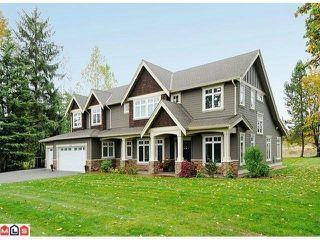 """Photo 1: 3718 232ND ST in Langley: Campbell Valley House for sale in """"South Langley"""" : MLS®# F1225888"""