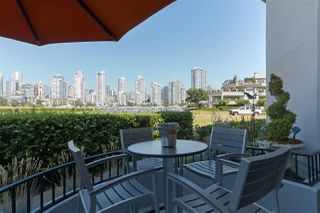"Main Photo: 119 1869 SPYGLASS Place in Vancouver: False Creek Condo for sale in ""THE REGATTA"" (Vancouver West)  : MLS®# R2396158"