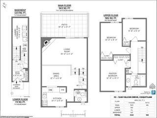 """Photo 14: 3 1240 FALCON Drive in Coquitlam: Upper Eagle Ridge Townhouse for sale in """"FALCON RIDGE"""" : MLS®# R2520791"""
