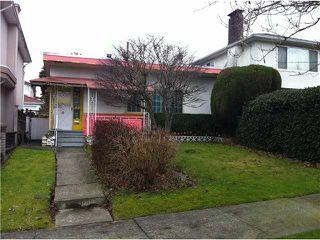 Photo 1: 2984 E 27TH AV in Vancouver: Renfrew Heights House for sale (Vancouver East)  : MLS®# V952853