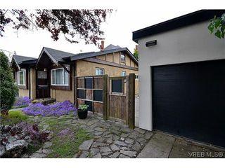 Photo 3: 1725 Lillian Road in VICTORIA: Vi Fairfield East Strata Duplex Unit for sale (Victoria)  : MLS®# 317751