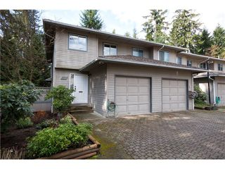 "Photo 1: 3934 INDIAN RIVER Drive in North Vancouver: Indian River Townhouse for sale in ""Highgate Terrace"" : MLS®# V997469"
