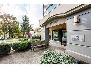 Photo 1: # 217 405 SKEENA ST in Vancouver: Renfrew VE Condo for sale (Vancouver East)  : MLS®# V1115002