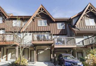 "Photo 1: 54 2000 PANORAMA Drive in Port Moody: Heritage Woods PM Townhouse for sale in ""MOUNTAINS EDGE"" : MLS®# R2418655"
