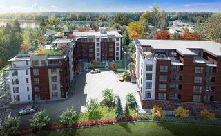 "Main Photo: 406 11703 FRASER Street in Maple Ridge: East Central Condo for sale in ""SIERRA RIDGE"" : MLS®# R2530145"