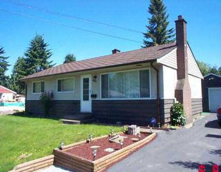 "Photo 1: 10098 PARK DR in Surrey: Cedar Hills House for sale in ""CEDAR HILLS"" (North Surrey)  : MLS®# F2511768"