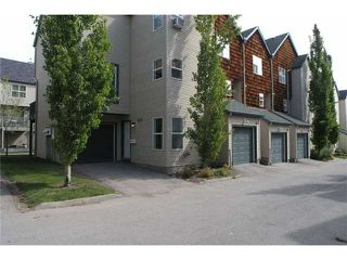 Photo 1: 336 BRIDLEWOOD Lane SW in CALGARY: Bridlewood Townhouse for sale (Calgary)  : MLS®# C3537460