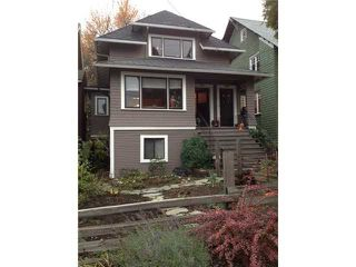 Photo 1: 2629 W 3RD Avenue in Vancouver: Kitsilano House for sale (Vancouver West)  : MLS®# V981890
