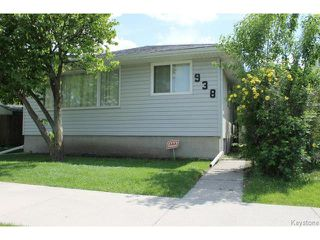 Photo 1: 938 Polson Avenue in WINNIPEG: North End Residential for sale (North West Winnipeg)  : MLS®# 1415517