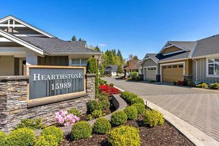 "Photo 1: 17 15989 MOUNTAIN VIEW Drive in Surrey: Grandview Surrey Townhouse for sale in ""Hearthstone"" (South Surrey White Rock)  : MLS®# R2443396"