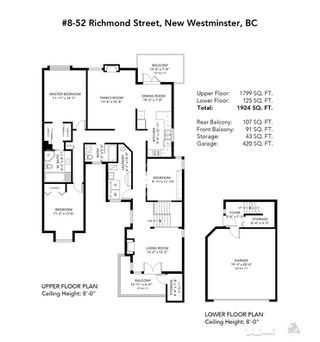 Photo 28: 8 52 RICHMOND Street in New Westminster: Fraserview NW Townhouse for sale : MLS®# R2462848
