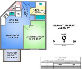 Photo 9: 215 1450 Tunner Dr in COURTENAY: CV Courtenay East Condo Apartment for sale (Comox Valley)  : MLS®# 844147