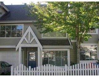 """Photo 1: 31 12099 237TH ST in Maple Ridge: East Central Townhouse for sale in """"GABRIOLA"""" : MLS®# V559157"""