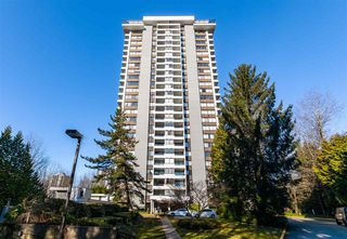 "Main Photo: 807 9521 CARDSTON Court in Burnaby: Government Road Condo for sale in ""Concord Place"" (Burnaby North)  : MLS®# R2445961"