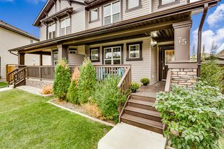 Photo 1: 75 LUXSTONE Point SW: Airdrie Semi Detached for sale : MLS®# A1033652