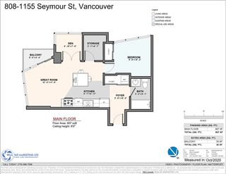 "Photo 26: 808 1155 SEYMOUR Street in Vancouver: Downtown VW Condo for sale in ""BRAVA!!!"" (Vancouver West)  : MLS®# R2508756"