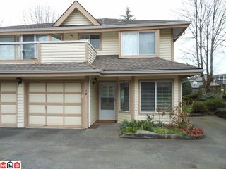 "Photo 1: 17 9971 151ST Street in Surrey: Guildford Townhouse for sale in ""SPENCERS GATE"" (North Surrey)  : MLS®# F1210468"