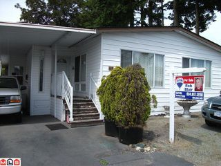 "Photo 1: 117 3665 244 Street in Langley: Otter District Manufactured Home for sale in ""Langley Grove Estates"" : MLS®# F1215190"