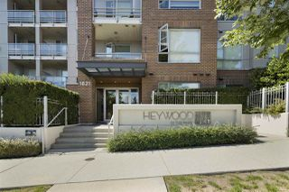 "Photo 1: 108 1621 HAMILTON Avenue in North Vancouver: Mosquito Creek Condo for sale in ""Heywood on The Park"" : MLS®# R2486566"