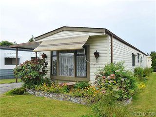 Main Photo: 9381 Brookwood Drive in SIDNEY: Si Sidney South-West Manu Single-Wide for sale (Sidney)  : MLS®# 312757
