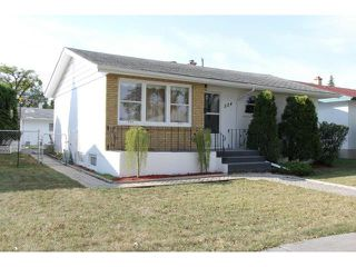 Photo 1: 524 Rosseau Avenue West in WINNIPEG: Transcona Residential for sale (North East Winnipeg)  : MLS®# 1218957