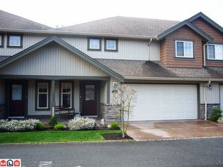 "Photo 1: # 33 6887 SHEFFIELD WY in Sardis: Sardis East Vedder Rd Townhouse for sale in ""PARKSFIELD"" : MLS®# H1203764"