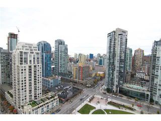 "Photo 6: 2302 1188 RICHARDS Street in Vancouver: Yaletown Condo for sale in ""PARK PLAZA"" (Vancouver West)  : MLS®# V985396"