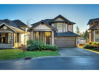 Photo 1: 3376 DON MOORE DR in Coquitlam: Burke Mountain House for sale : MLS®# V1040050