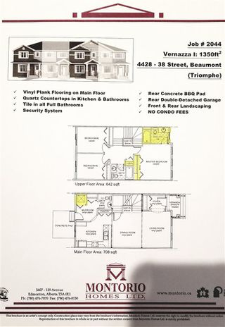 Photo 32: 4428 38 Street: Beaumont Attached Home for sale : MLS®# E4195875
