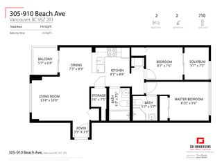 Photo 24: 305 910 BEACH AVENUE in Vancouver: Yaletown Condo for sale (Vancouver West)  : MLS®# R2459632