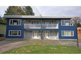 "Photo 1: 3378 VIEWMOUNT Drive in Port Moody: Port Moody Centre House Duplex for sale in ""CITY'S ""OCP"" AS MULTI-FAMILY"" : MLS®# V943156"