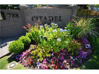 "Photo 1: 31 788 CITADEL Drive in Port Coquitlam: Citadel PQ Townhouse for sale in ""CITADEL BLUFFS"" : MLS®# V980289"
