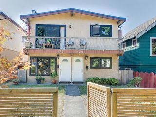 Photo 1: 670 E 13TH AV in Vancouver: Mount Pleasant VE House for sale (Vancouver East)  : MLS®# V1140453