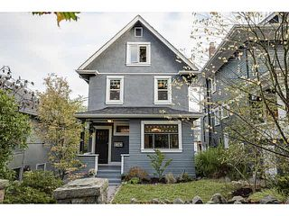Photo 1: 1747 NAPIER STREET in Vancouver: Grandview Woodland House for sale (Vancouver East)  : MLS®# V1089052