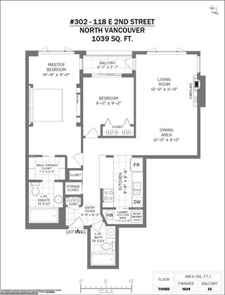 """Photo 23: 302 118 E 2ND Street in North Vancouver: Lower Lonsdale Condo for sale in """"The Evergreen"""" : MLS®# R2520684"""