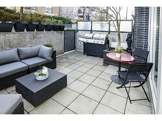 Photo 1: # 101 2511 QUEBEC ST in Vancouver: Mount Pleasant VE Condo for sale (Vancouver East)  : MLS®# V1098293