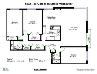 Photo 18: 302 1972 ROBSON STREET in Vancouver: West End VW Condo for sale (Vancouver West)  : MLS®# R2112876