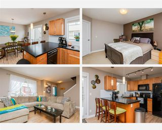 Photo 1: 15 675 ALBANY Way in Edmonton: Zone 27 Townhouse for sale : MLS®# E4188947