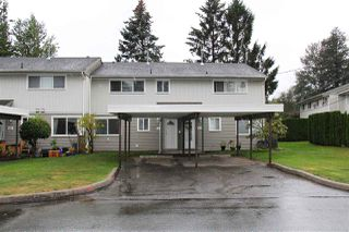 "Photo 1: 61 45185 WOLFE Road in Chilliwack: Chilliwack W Young-Well Townhouse for sale in ""Townsend Gables"" : MLS®# R2502166"