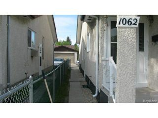 Photo 18: 1062 McLeod Avenue in WINNIPEG: North Kildonan Single Family Attached for sale (North East Winnipeg)  : MLS®# 1412031