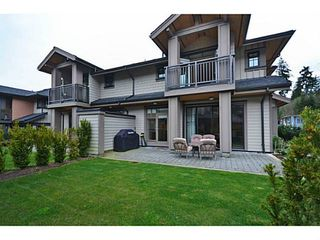 Photo 2: 1 555 Raven Woods Drive in North Vancouver: Roche Point Townhouse for sale : MLS®# V1042218