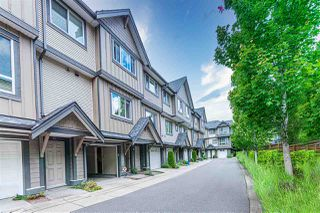 """Photo 1: 14 9391 ALBERTA Road in Richmond: McLennan North Townhouse for sale in """"WILD ROSE"""" : MLS®# R2510919"""