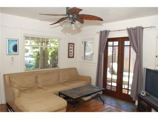 Photo 4: HILLCREST House for sale : 2 bedrooms : 3722 Richmond Street in San Diego