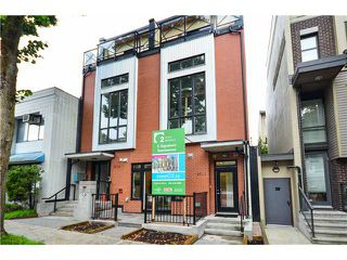 "Photo 1: 203 3715 COMMERCIAL Street in Vancouver: Victoria VE Townhouse for sale in ""O2"" (Vancouver East)  : MLS®# V1025260"